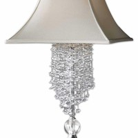 Fascination II Silver Table Lamp