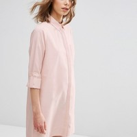 ASOS | ASOS Shirt Dress with Tab Detail at ASOS