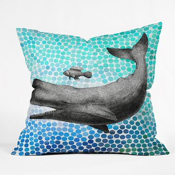 Garima Dhawan New Friends 3 Outdoor Throw Pillow
