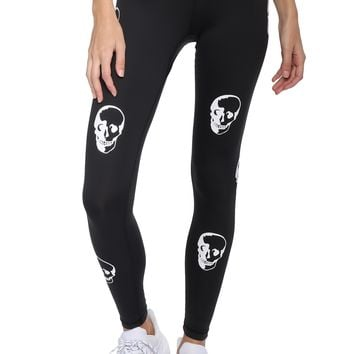 CHRLDR Skulls Leggings