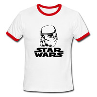 Star Wars Men's Storm Trooper Crew Neck T-Shirt Various Colors