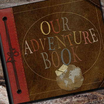 Our Adventure Photo Album or Scrapbook by AlbumOptions on Etsy