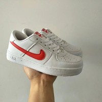 """""""Nike Air Force 1"""" Unisex Sport Casual Classic Low Help Plate Shoes Couple Fashion Sneakers"""
