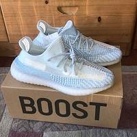 ADIDAS YEEZY BOOST 350 V2'Black' classic casual all-match sneakers shoes