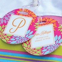Set of 2 Personalized Monogrammed Luggage Tags I