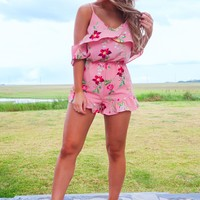 Sweetest Chick Romper: Multi