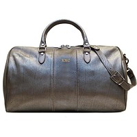 Personalize Venezia Duffle in Gold or Silver