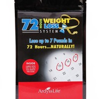 72-hour weight loss system