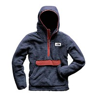 Men's Campshire Pullover Hoodie in Urban Navy & Caldera Red by The North Face
