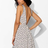 Pins And Needles Allover Print V-Back Tank Dress - Urban Outfitters