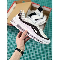 Nike Air Max 98 White Sport Running Shoes