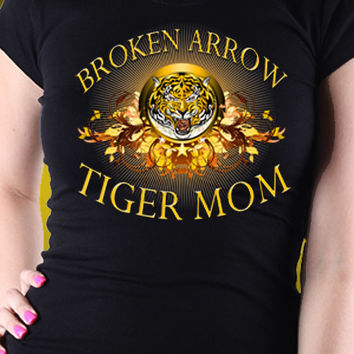 Broken Arrow Tiger Mom T-Shirt