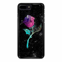 Stained Glass Rose Galaxy iPhone 8 Plus Case