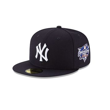 """New Era """"New York Yankees"""" 2000 World Series Grey Bottom 59Fifty Fitted Hat"""