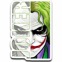 Joker Sticker Decal