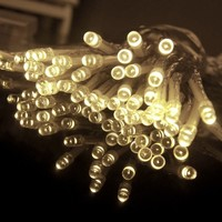 5W AA Battery Powered Copper Wire LED String Christmas Lights Lighting 5M/16ft 80 LEDS Fairy Light CE RoHs Certificate