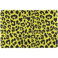 Yellow Cheetah Print All Over Placemat