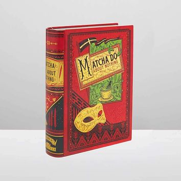 Matcha Do About Nothing Shakespeare Book Shaped Tea Tin