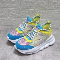 Versace Chain Reaction Sneakers #dsr111 - Best Online Sale