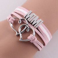 Double Heart MIMI Pink