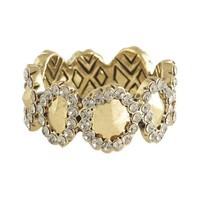 House of Harlow 1960 Jewelry Geodesic Band Ring