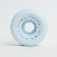 Broadcast Wheels 54mm Couriers Wheels - 98A Blue – PERMANENT
