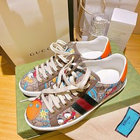 Gucci Woman Men Fashion Casual Sneakers Sport Shoes-16