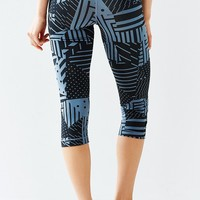 Nike Pro Patchwork Cropped Legging - Urban Outfitters