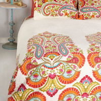 Boho Think Lively of You Quilt Set in Full, Queen by ModCloth