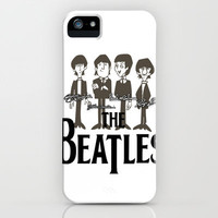 The Beatles iPhone Case by PSdecor | Society6