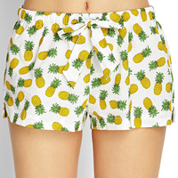 Pineapple Sleep Shorts