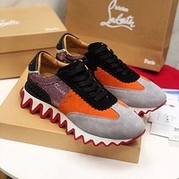 Christian Louboutin Casual Breathable Stylish Sneakers-5