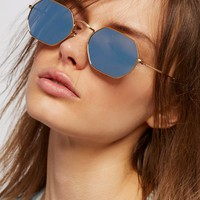 Free People What the Hex Sunnies