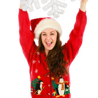Penguin Pawty Ugly Christmas Sweater