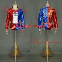 Suicide Squad Harley Quinn Cosplay Costume cosplay Custom Suicide Squad cosplay made