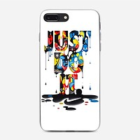 Nike Just Do It Colorfull iPhone 8 Plus Case