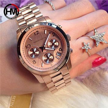 2020 Fashion New Women Watches Luxury Brand Ladies Quartz Watch Stainless Steel Mesh Band Casual Bracelet Wristwatch Reloj Mujer