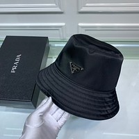 prada newest popular women men sports uv protection sun hat visor hat cap 6