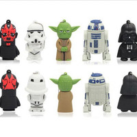 Star Wars Charcter 8 GB USB Flashdrive