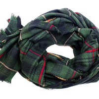 Miller Plaid Scarf