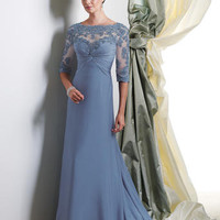 Mother of the Bride Dresses – Montage Boutique by Mon Cheri 113949 Lace Sleeves