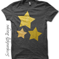 Star Iron on Transfer - Space Iron on Shirt PDF / Toddler Star Shirt / DIY Kids Boys Clothing Top / Outer Space Birthday Party IT20
