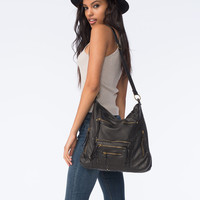 T-SHIRT & JEANS Zoey Zipper Tote Bag | Totes & Messenger Bags