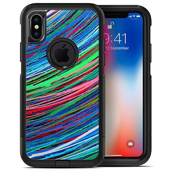 Colorful Strokes - iPhone X OtterBox Case & Skin Kits