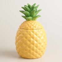 Ceramic Pineapple Cookie Jar