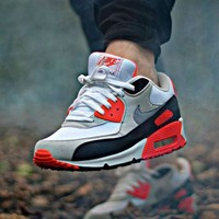 Tagre™ NIKE AIR MAX 90 Fashion Ladies men running sports shoes sneakers