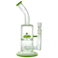 """12"""" Showerhead + Turbine + Spinning Propeller + Bent Neck + Color. Water Pipe"""
