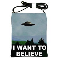 xfiles Crossbody Bag by Totalchaosbootique on Etsy