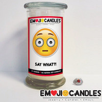 Say What?! - Emoji Candles