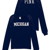 University of Michigan Bling Crew - PINK - Victoria's Secret